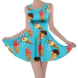 Cowcow ice cream cone dress size M